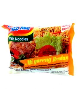 FULL CASE Indomie Mi Goreng Rendang Instant Noodles | Buy Online at the Asian Cookshop